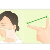 あなたに最適なマスクの選び方「決め手は鼻と耳の間の距離」